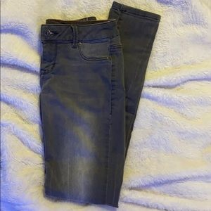 Maurices Gray Colored Stretch Jeans